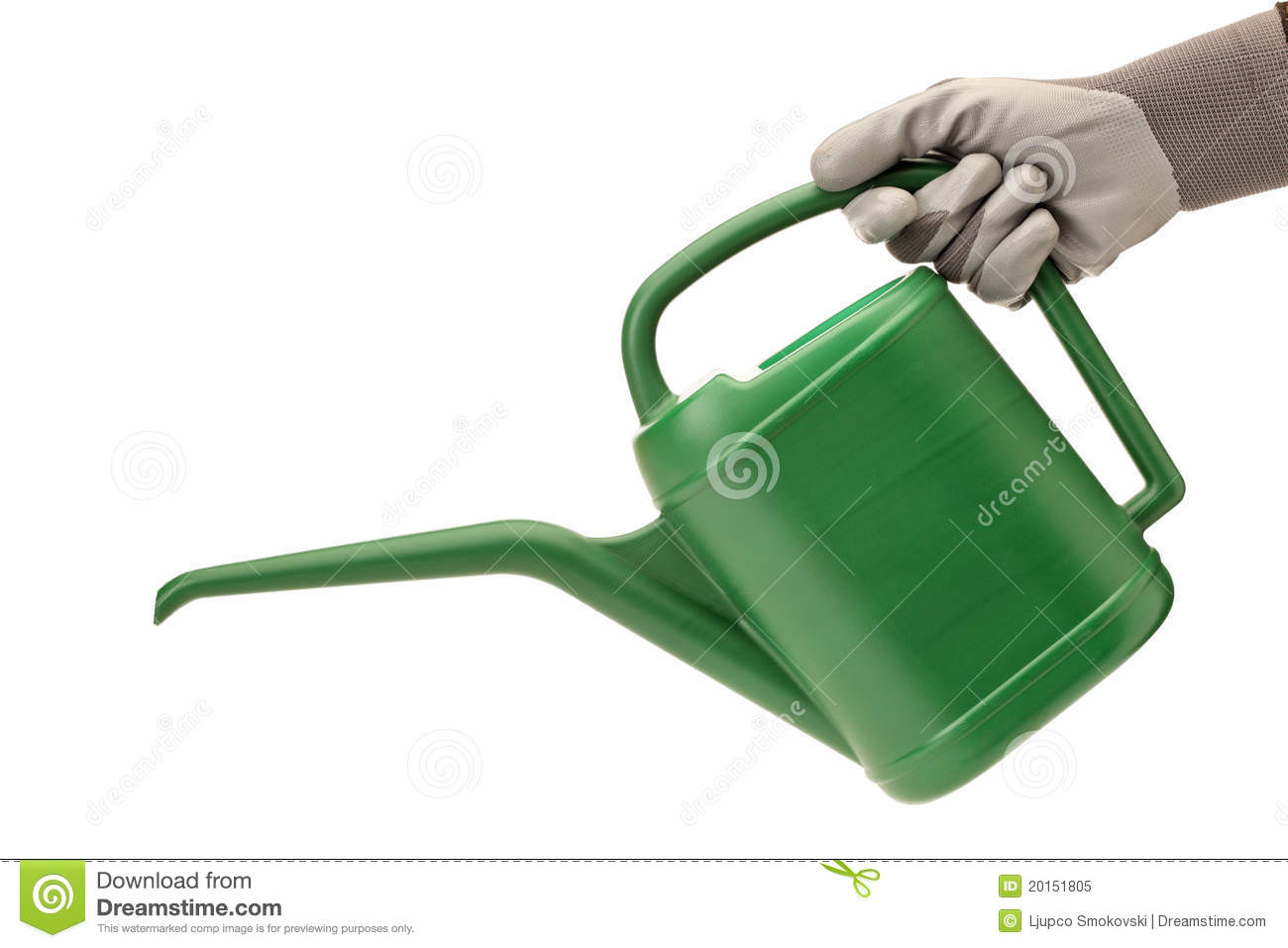 person with holding a watering can stock photos image 20836003