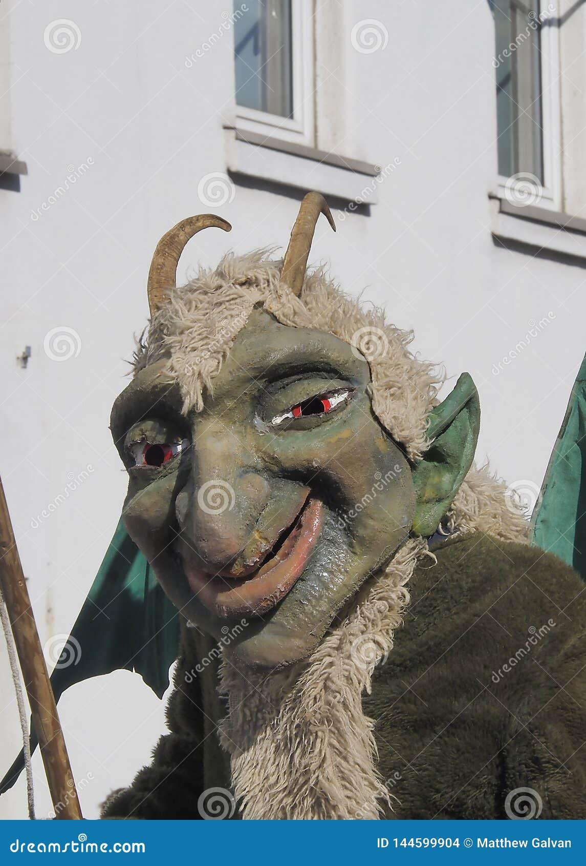 Demon Costume close up