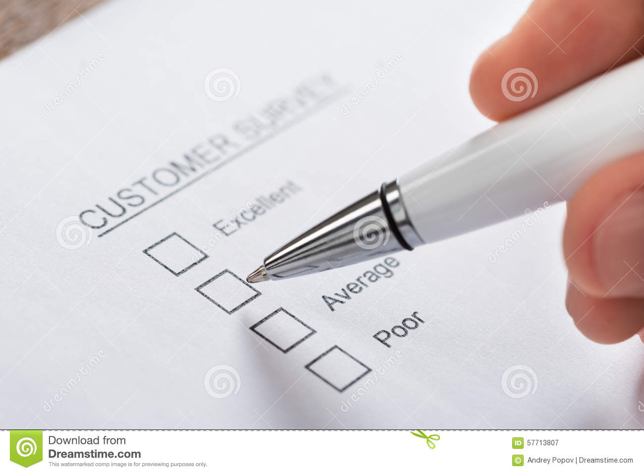 in person surveys person hands filling customer survey form royalty free 9400