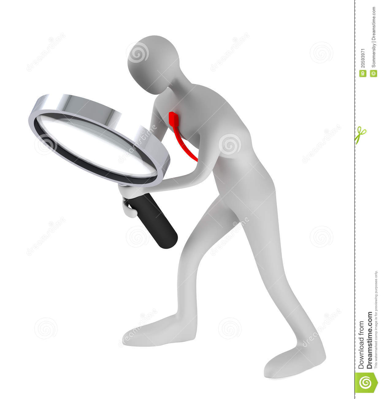 Person Holding A Magnifier Looking For Something Stock ...  Someone Searching For Something