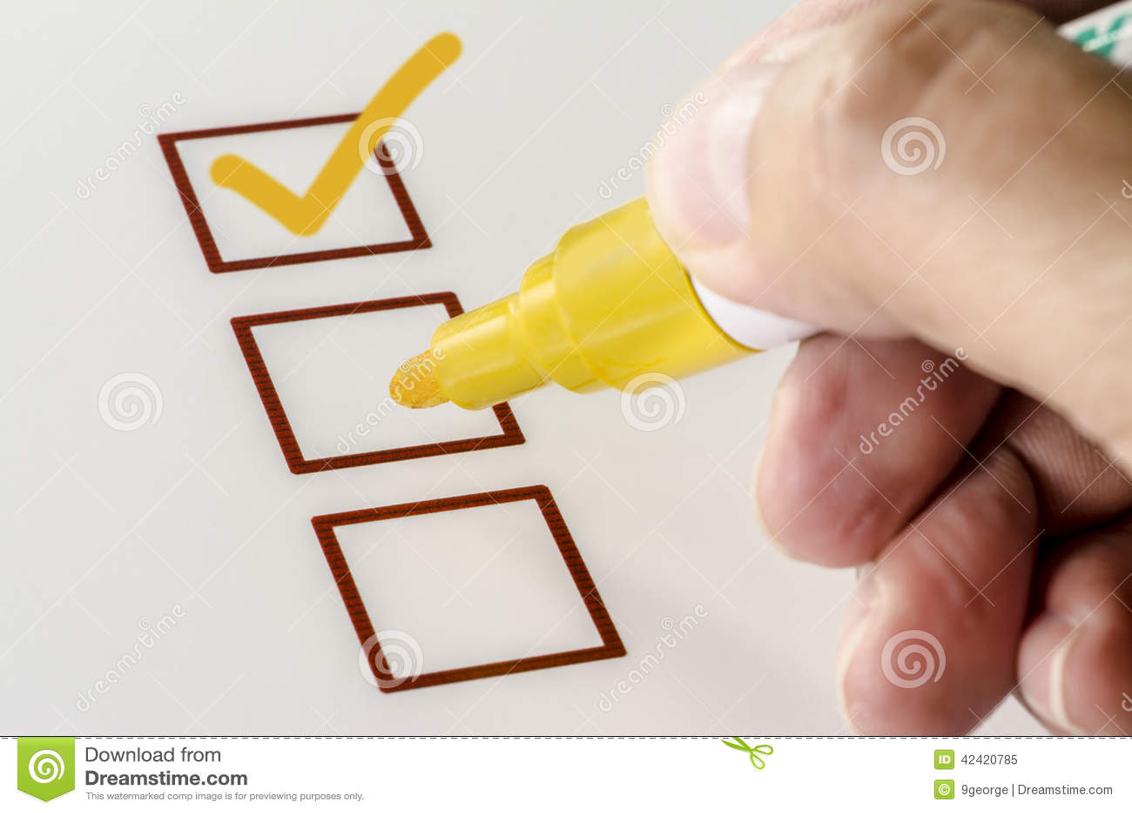 Person Marking in Checkbox op Witboek