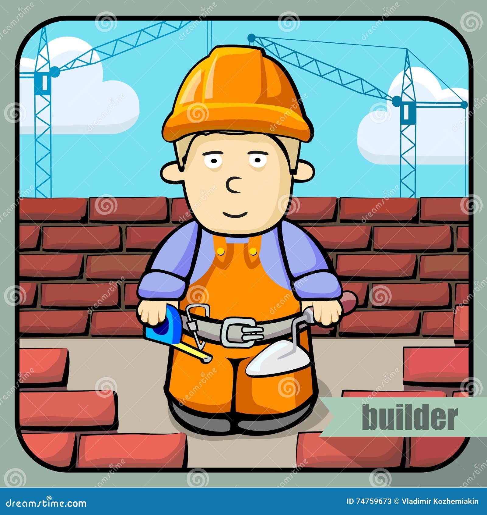 person profession builder stock vector illustration of icon 74759673 rh dreamstime com Rustic Fence Vector Vector Fence Post