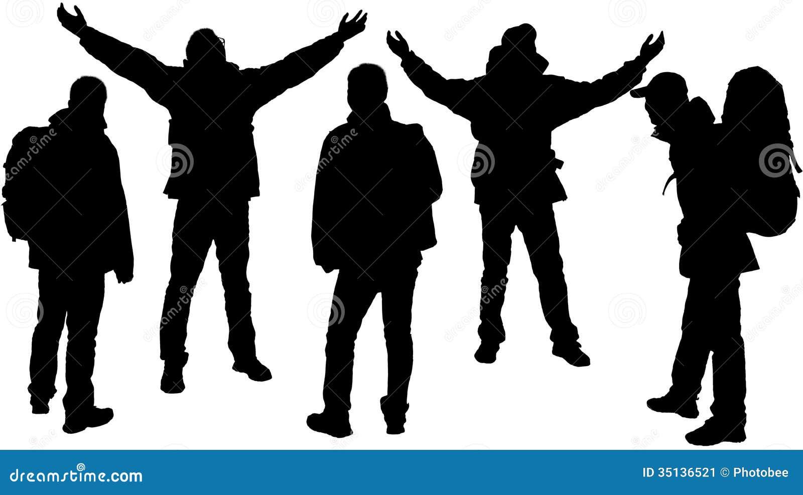 hiking silhouette desktop wallpaper - photo #31