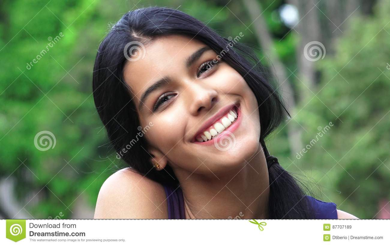 Person Smiling And Happy