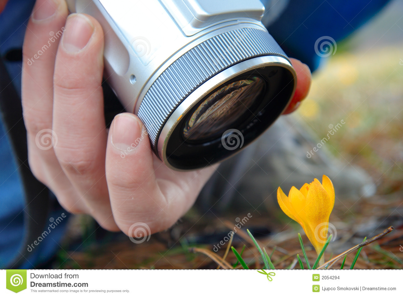 Person Taking Pictures Stock Images - Image: 2054294
