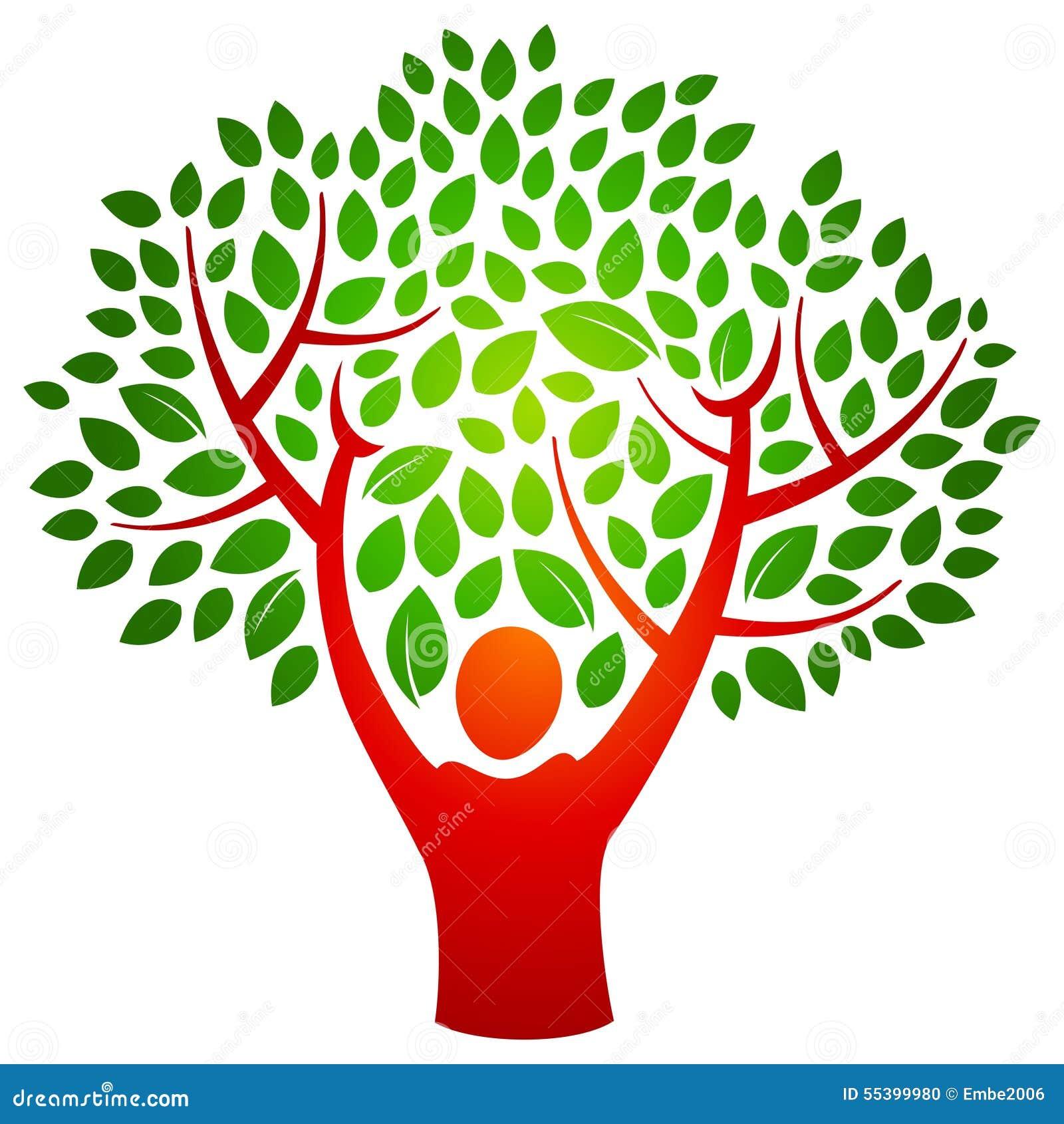 Person tree logo