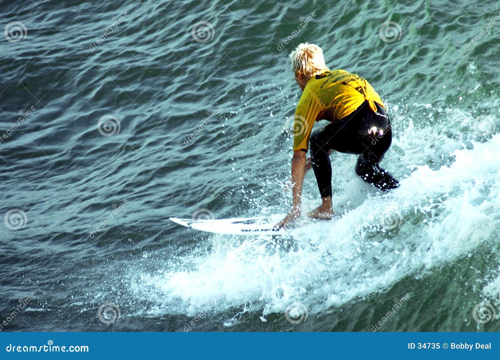 Download Persona Que Practica Surf 11 Imagen editorial - Imagen de coastline, hombre: 34735
