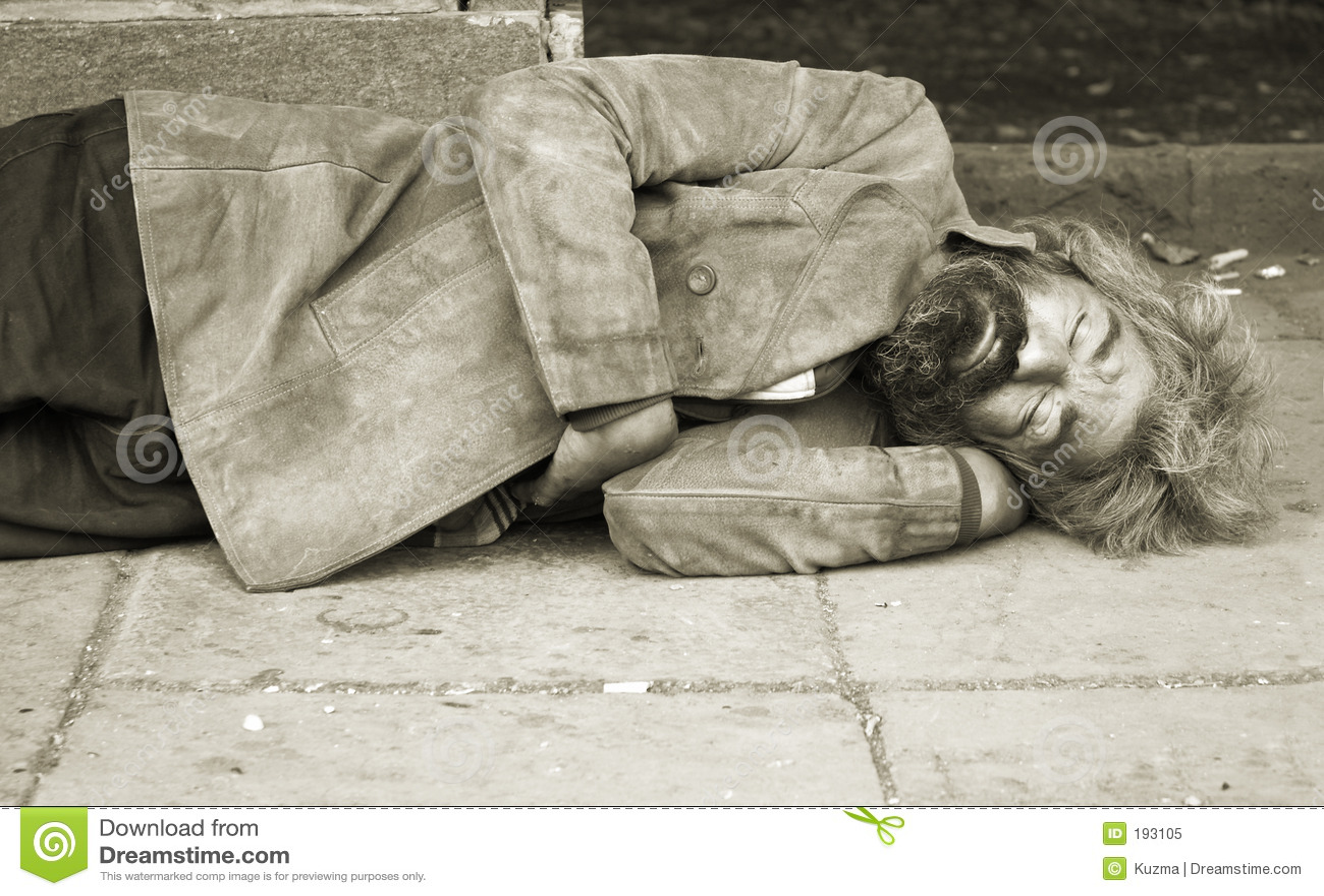 Persona senza casa
