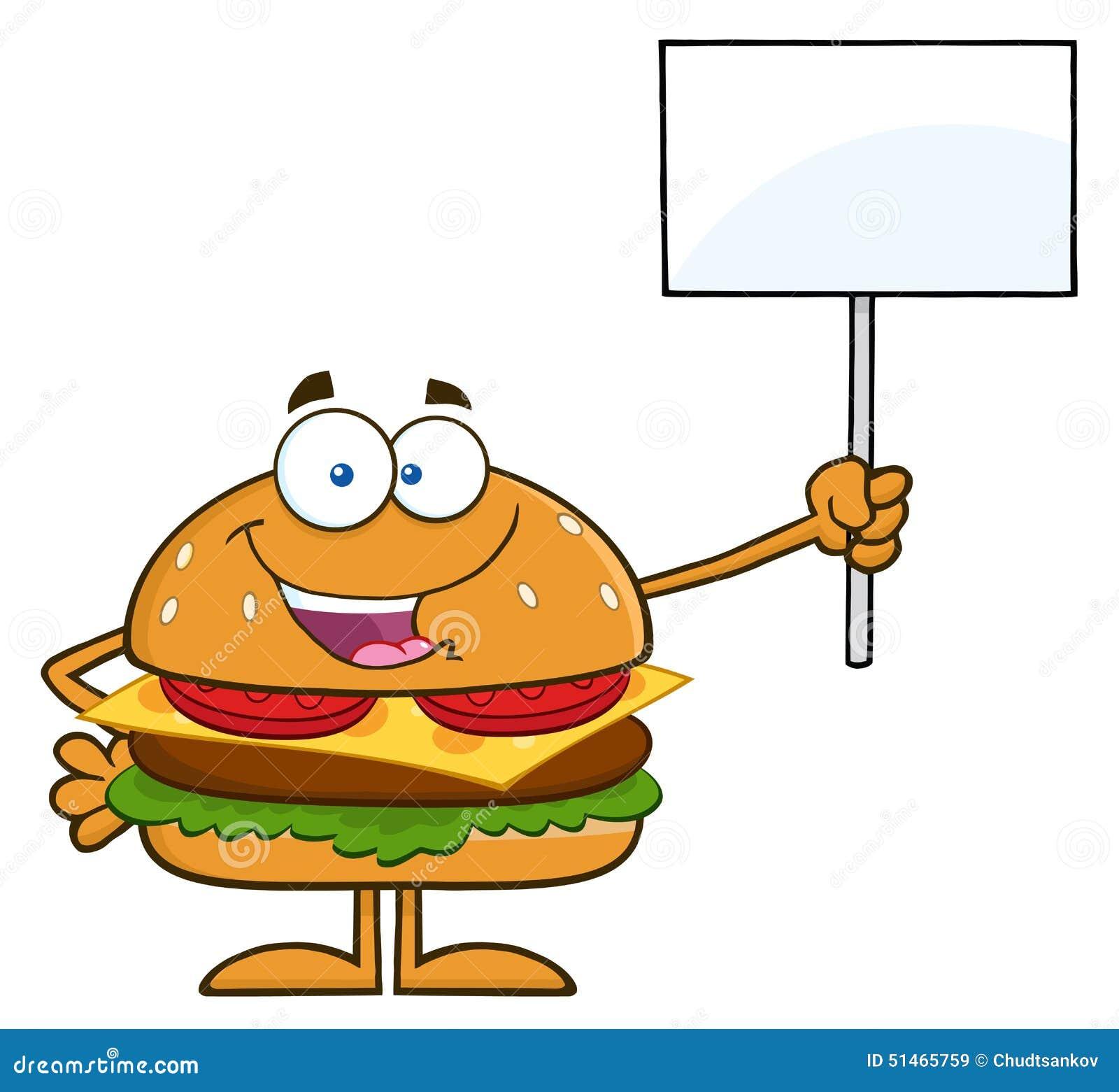 Personagem de banda desenhada do Hamburger que guarda um sinal vazio