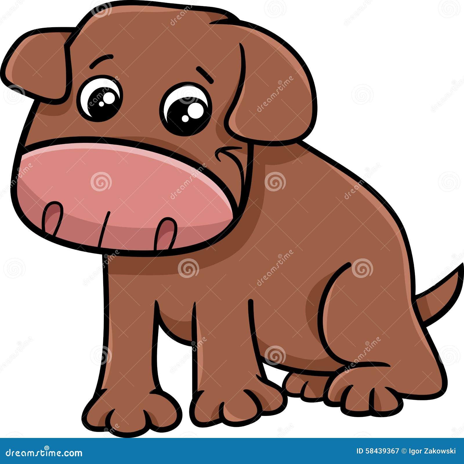 Personaggio dei cartoni animati del piccolo cane