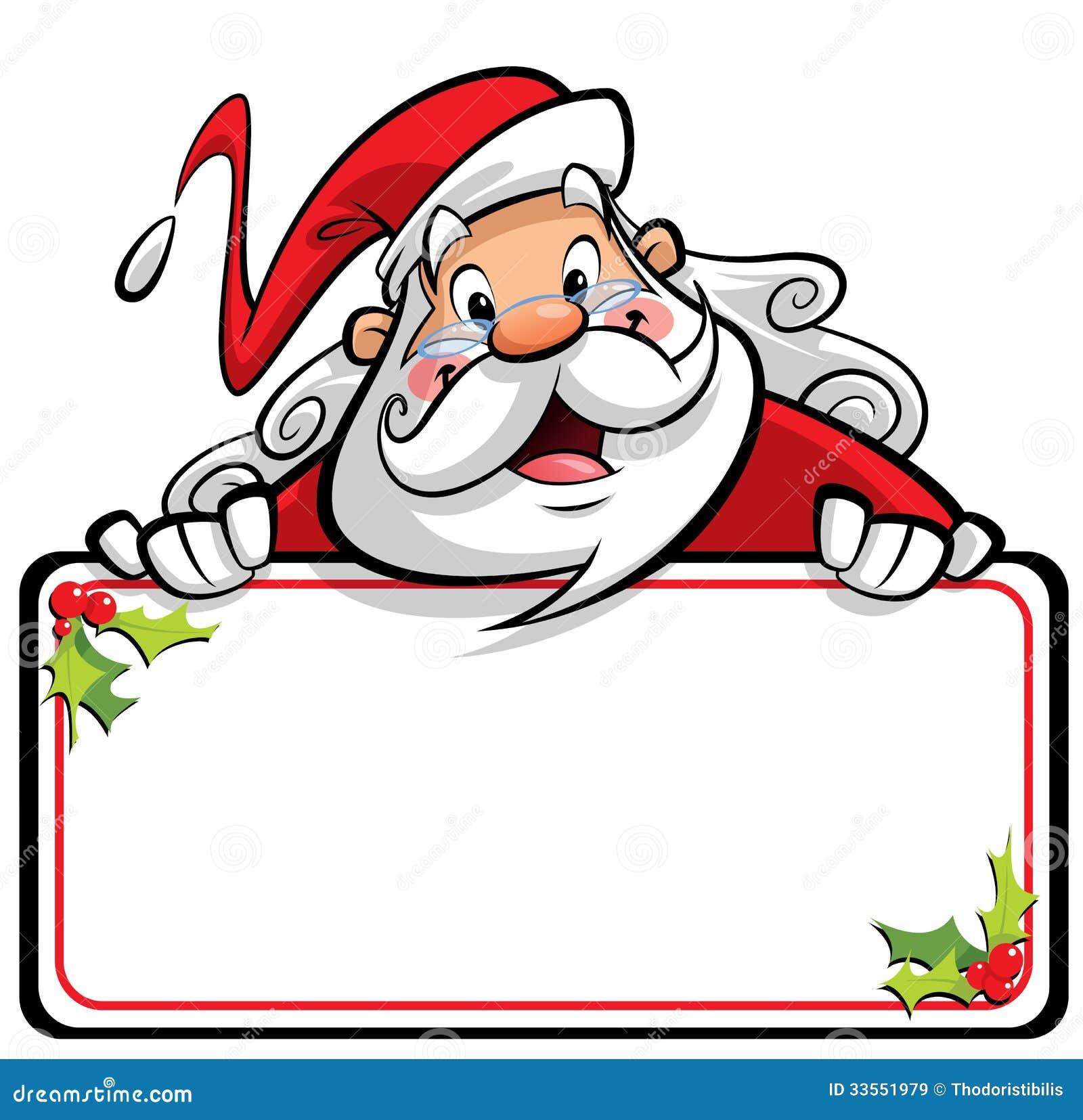 Imagenes De Papa Noel Animado.Personaje De Dibujos Animados Sonriente Feliz De Santa Claus
