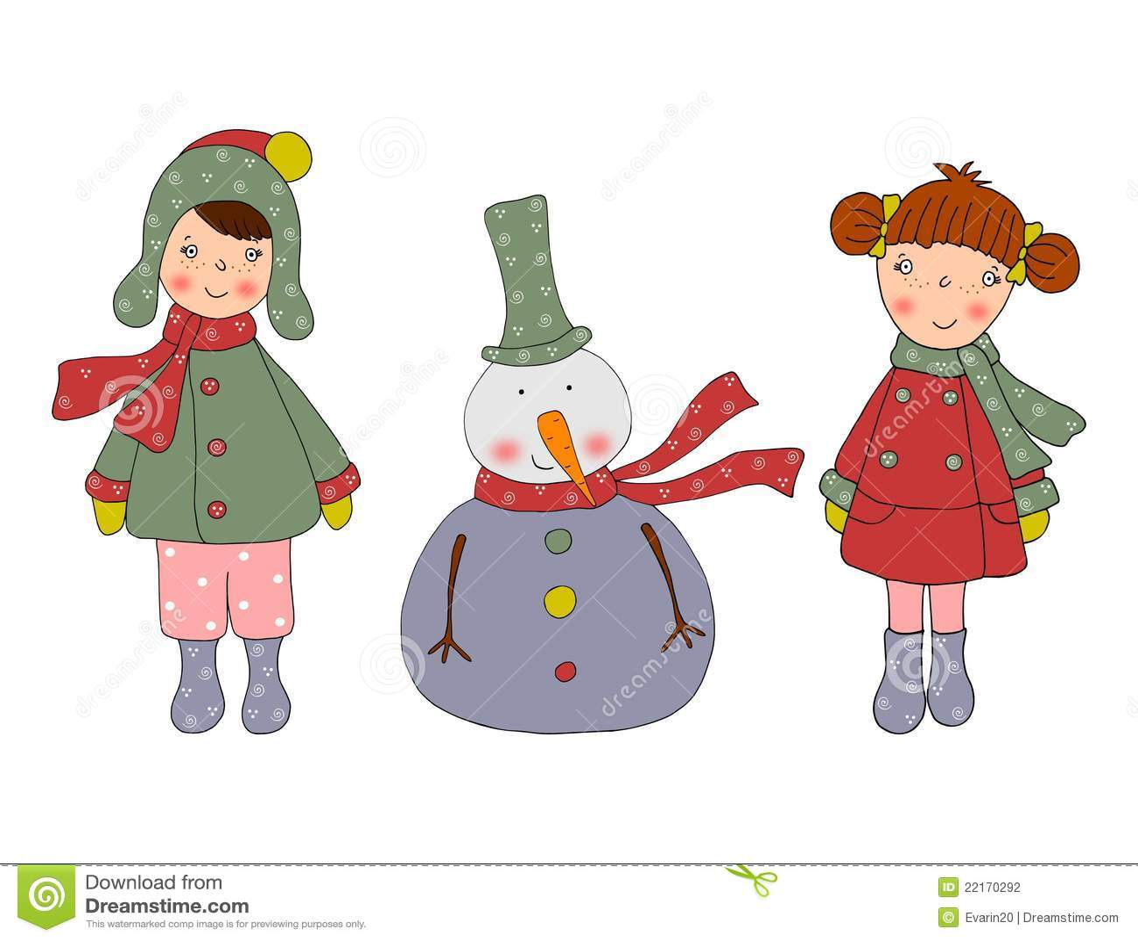 Personajes de dibujos animados tarjeta de navidad - Dibujos de postales de navidad ...