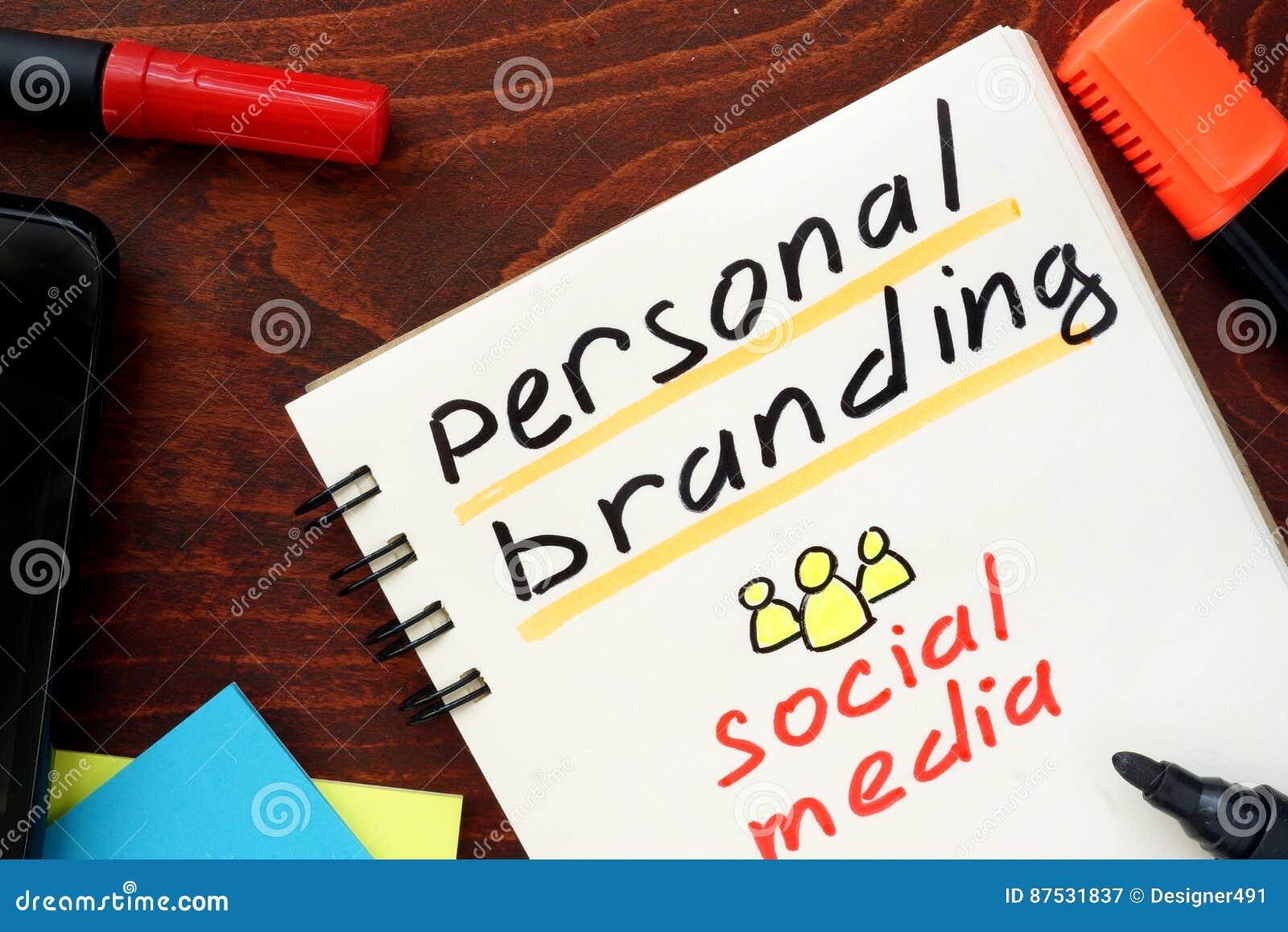 Personal Branding.