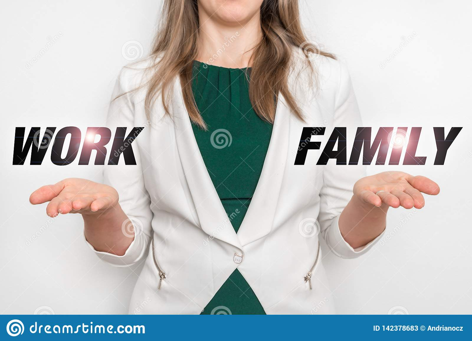 Personal choice between work and family