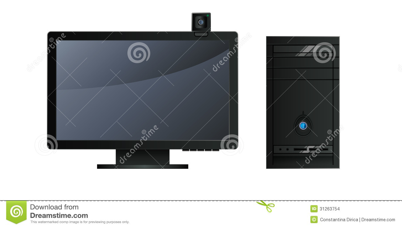 Personal Computer Stock Images - Image: 31263754