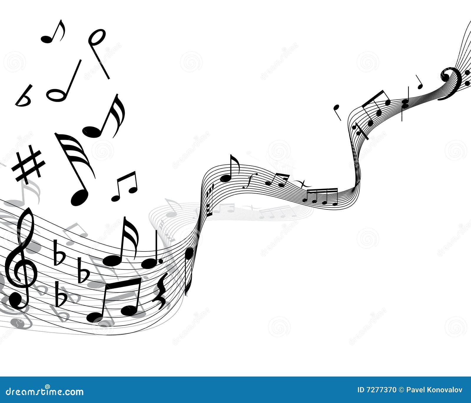 Foto Nota Musical ~ Personal De La Nota Musical Foto de archivo Imagen 7277370