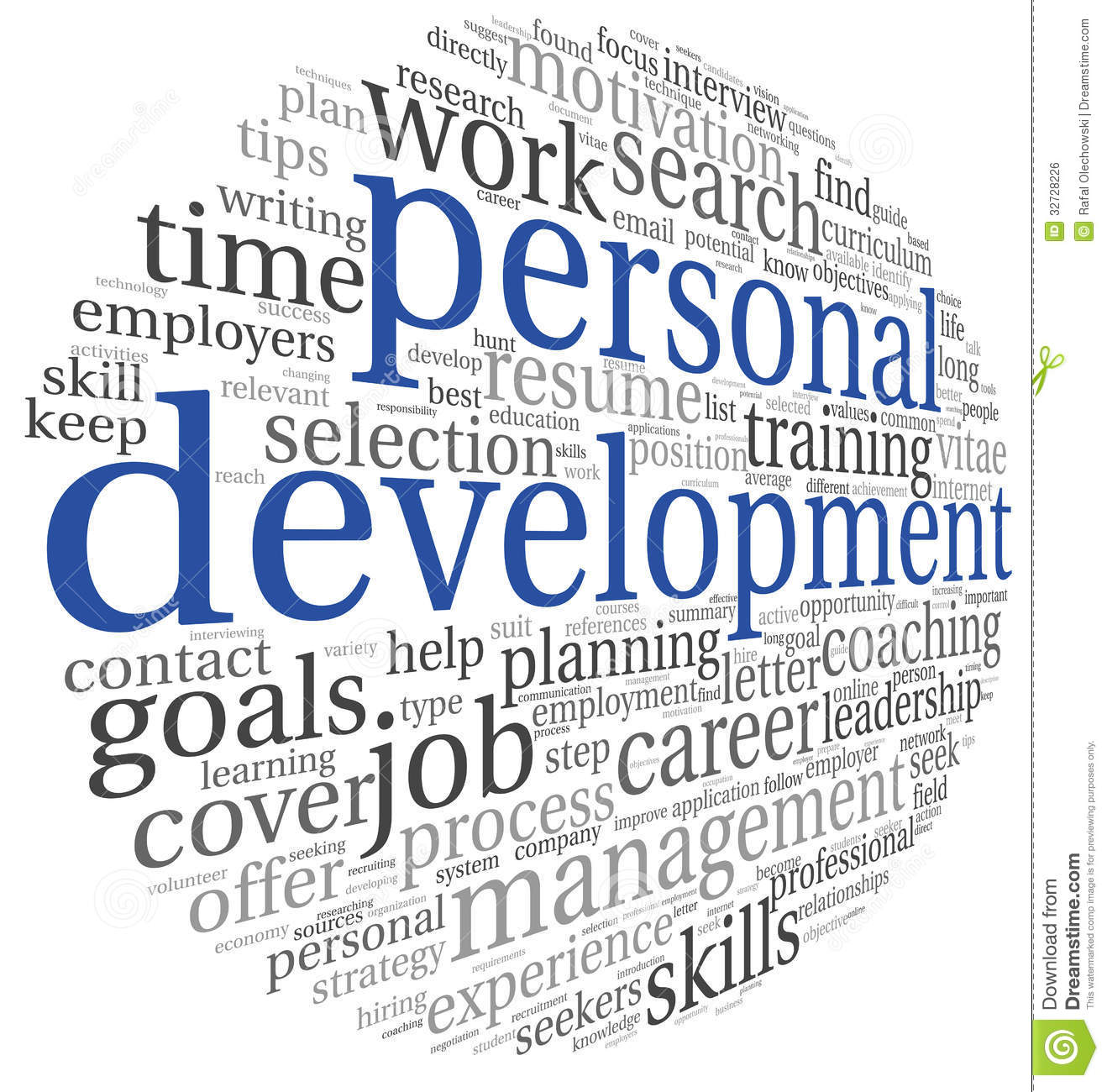 development personal word cloud clipart tag self career concept coaching assessment mlm business illustration reasons training background joining why clip