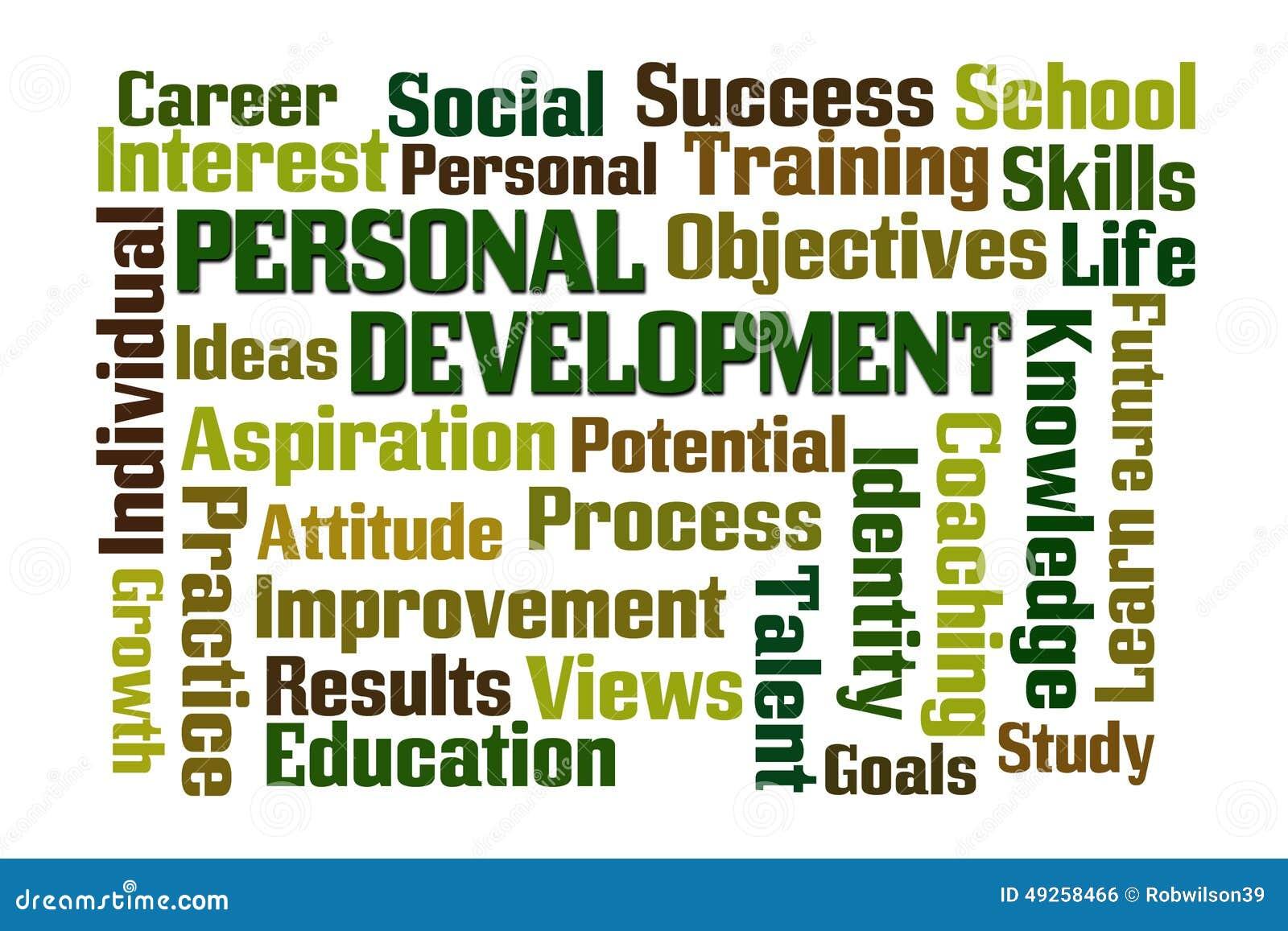 development personal word cloud persoonlijke ontwikkeling wordcloud