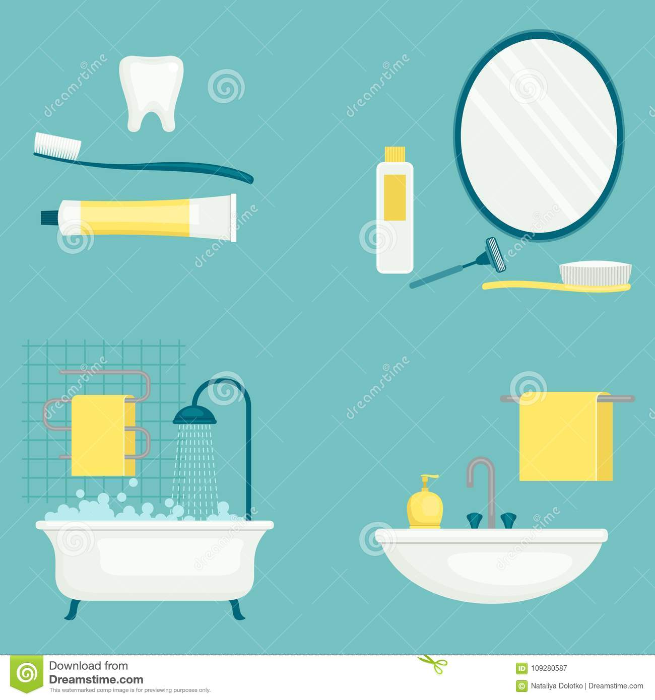 Personal Hygiene Stock Illustrations 3 221 Personal