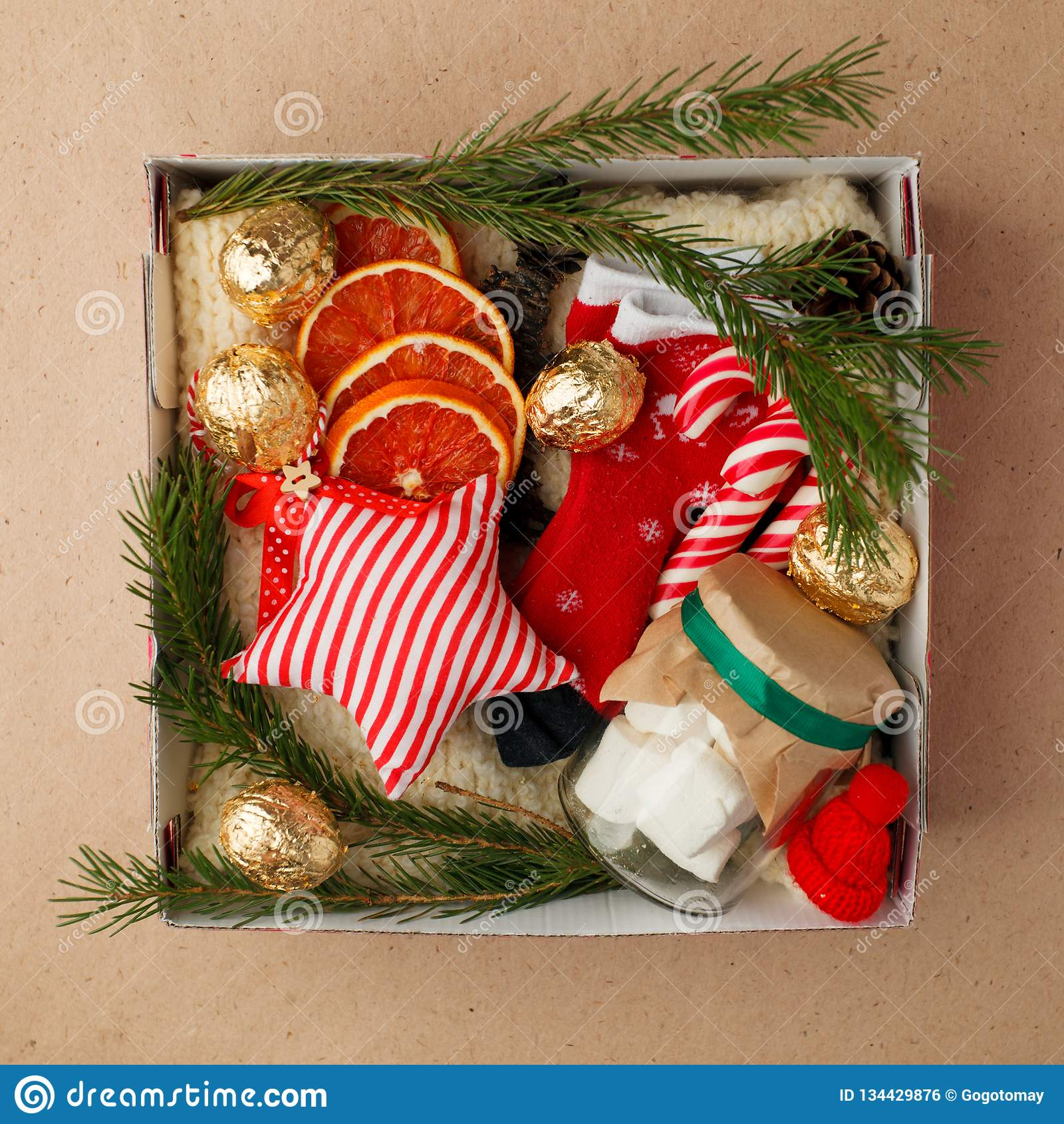 47e1cd873 A Personalized Box With Gifts For Christmas And New Year