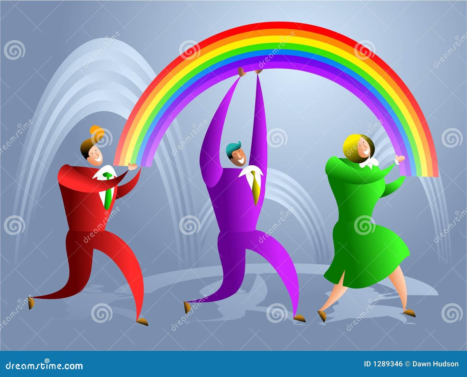 Personas del arco iris