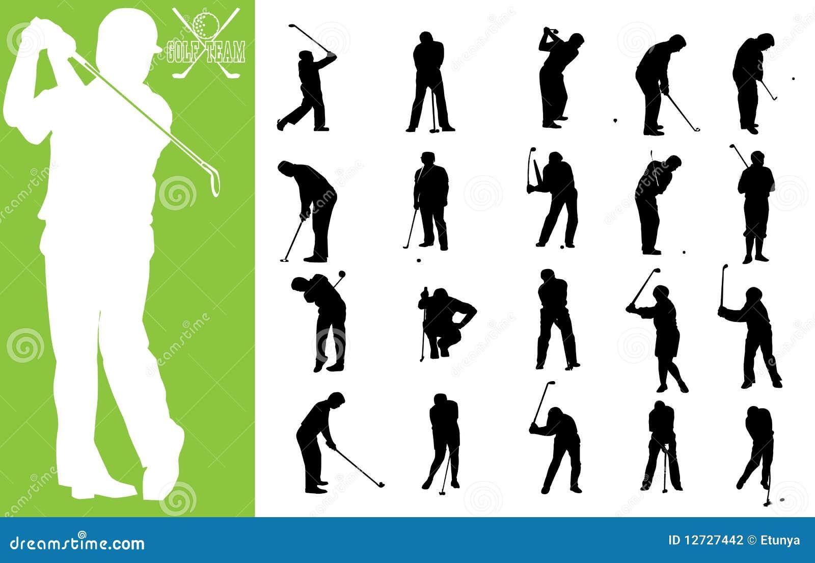 Personas del golf