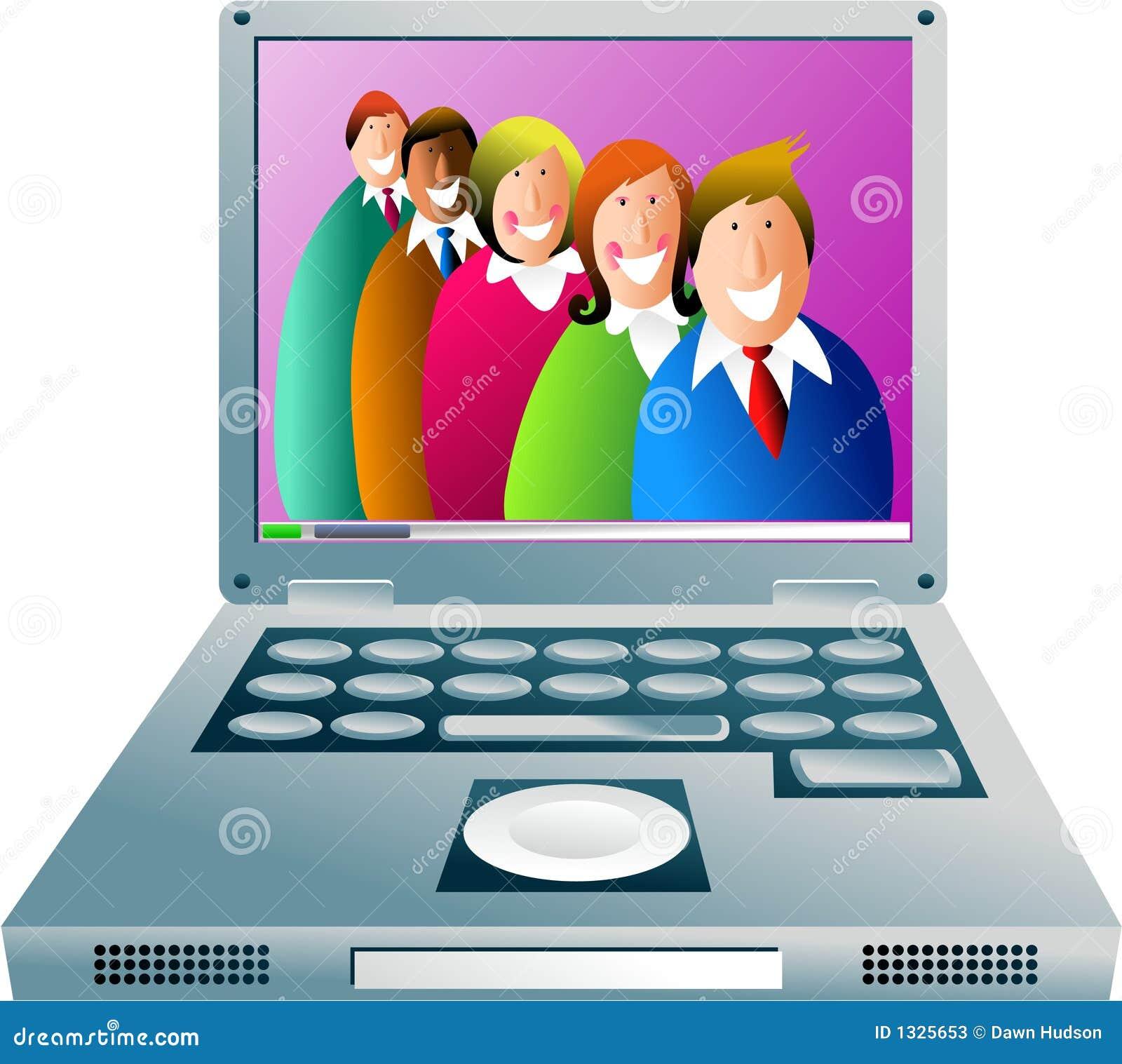 Personas del ordenador