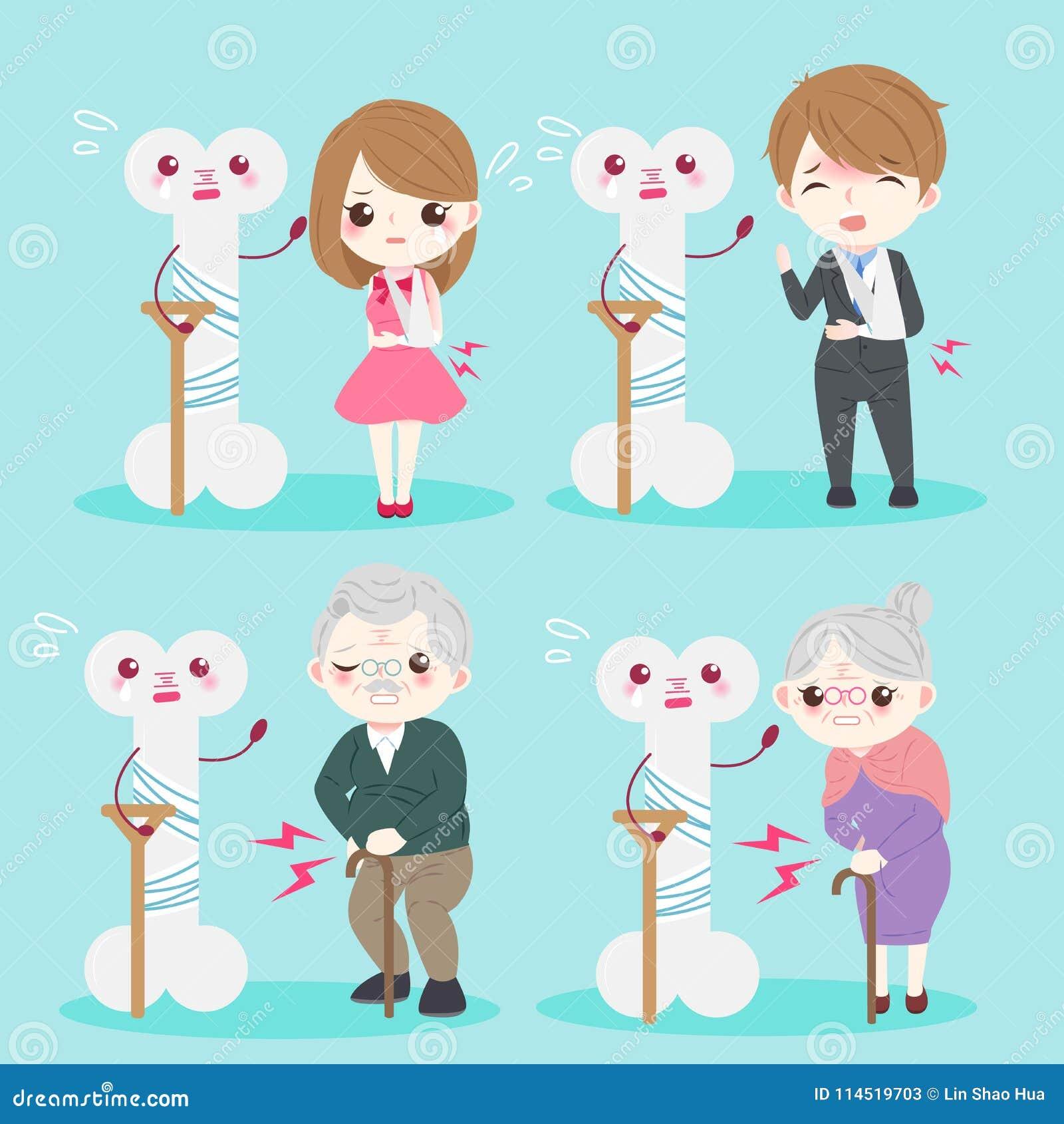 Personas mayores con osteoporosis