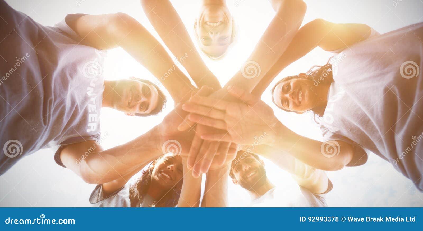 Personas Unidas Foto De Archivo. Imagen De Caucásico