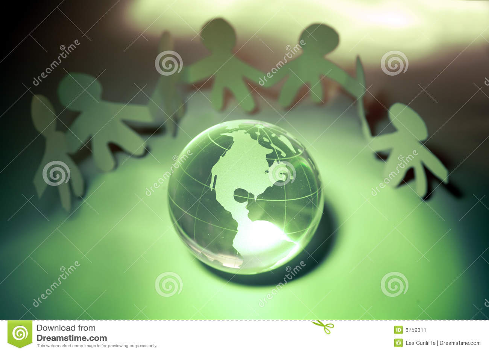Personas y globo