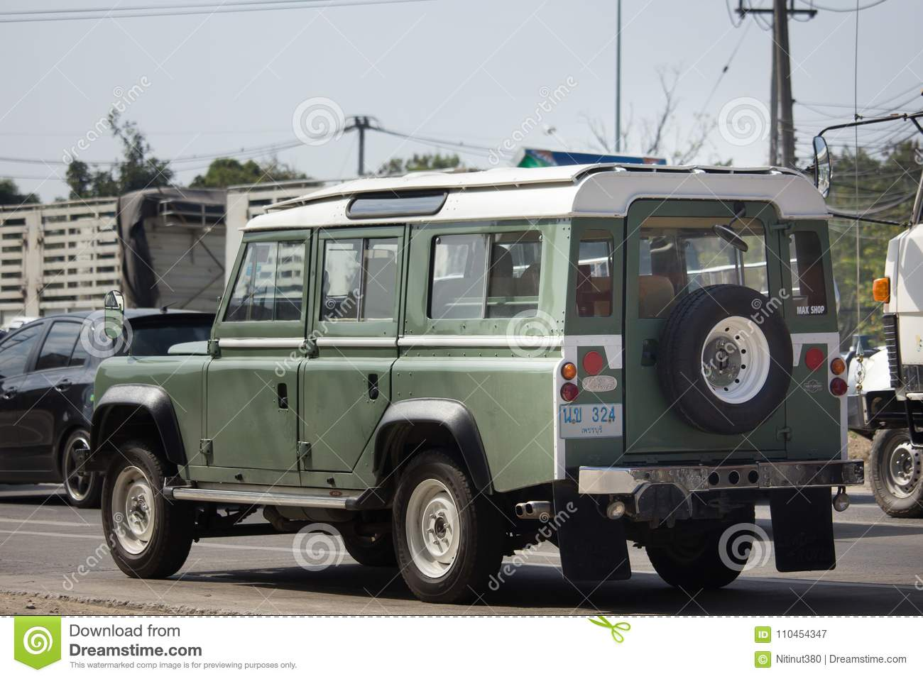 Personbil Land Rover Truck