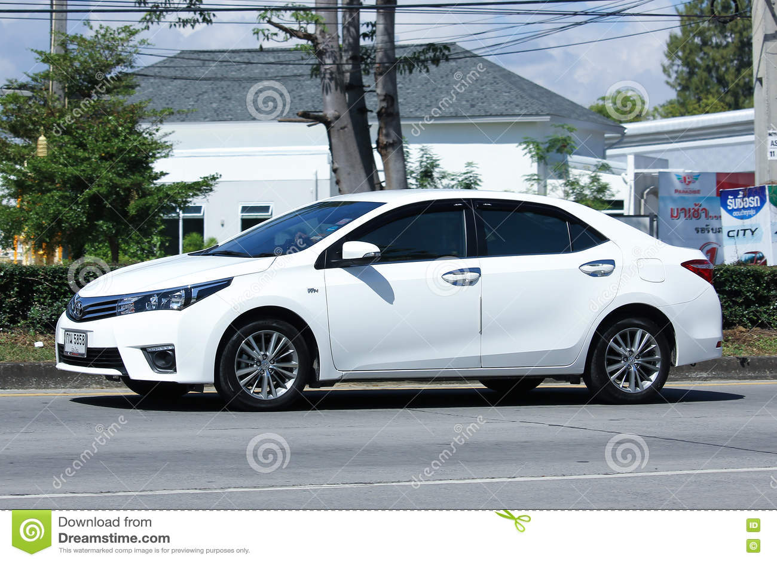 Personbil Toyota Corolla Altis