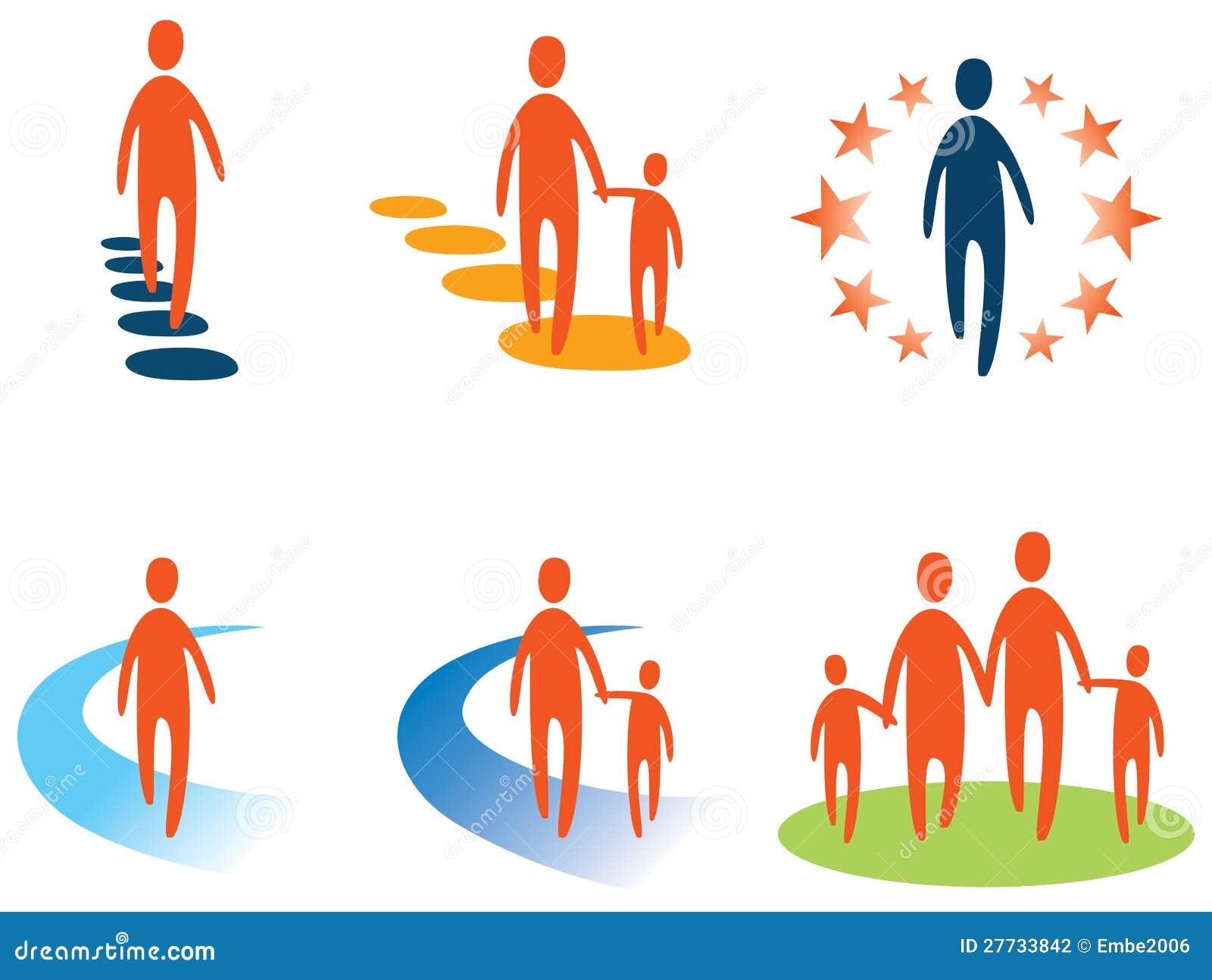 Personen-und Leute-Zeichen