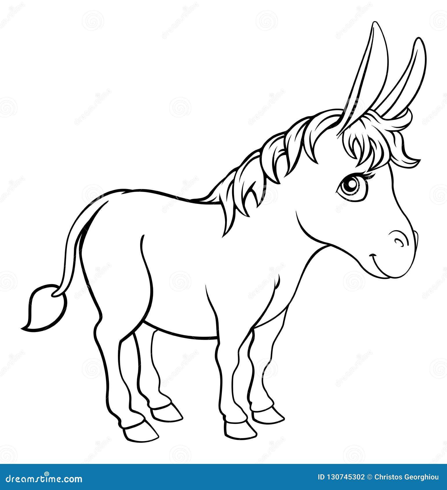 Personnage De Dessin Animé Animal Dâne Illustration De Vecteur