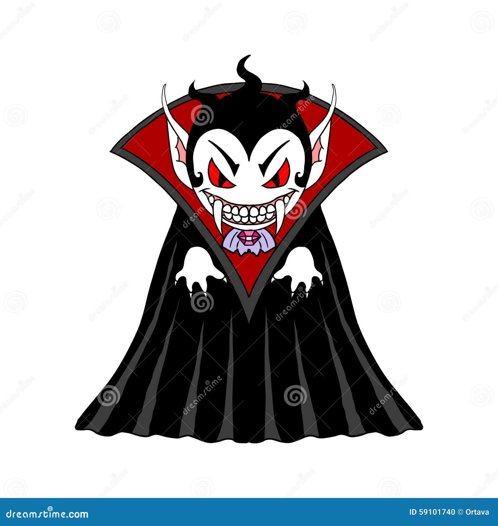 Personnage de dessin anim d 39 homme de vampire illustration - Dessins de vampires ...