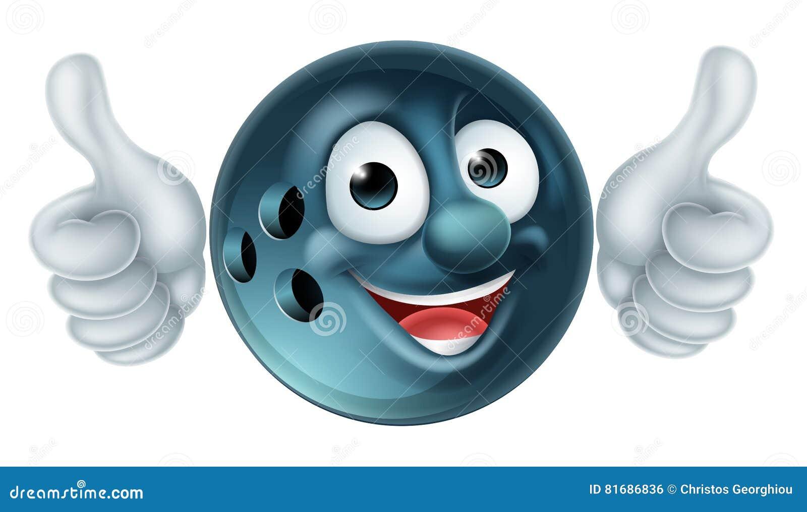 Personnage de dessin anim de boule de bowling illustration de vecteur illustration du gibier - Bowling dessin ...