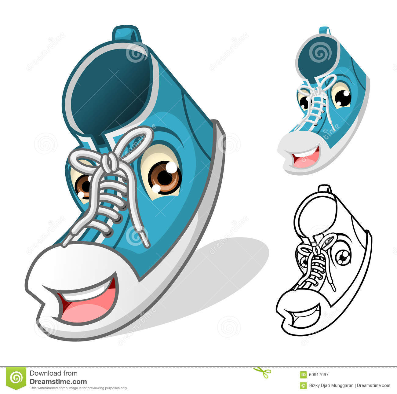 Mascot Tennis Shoes