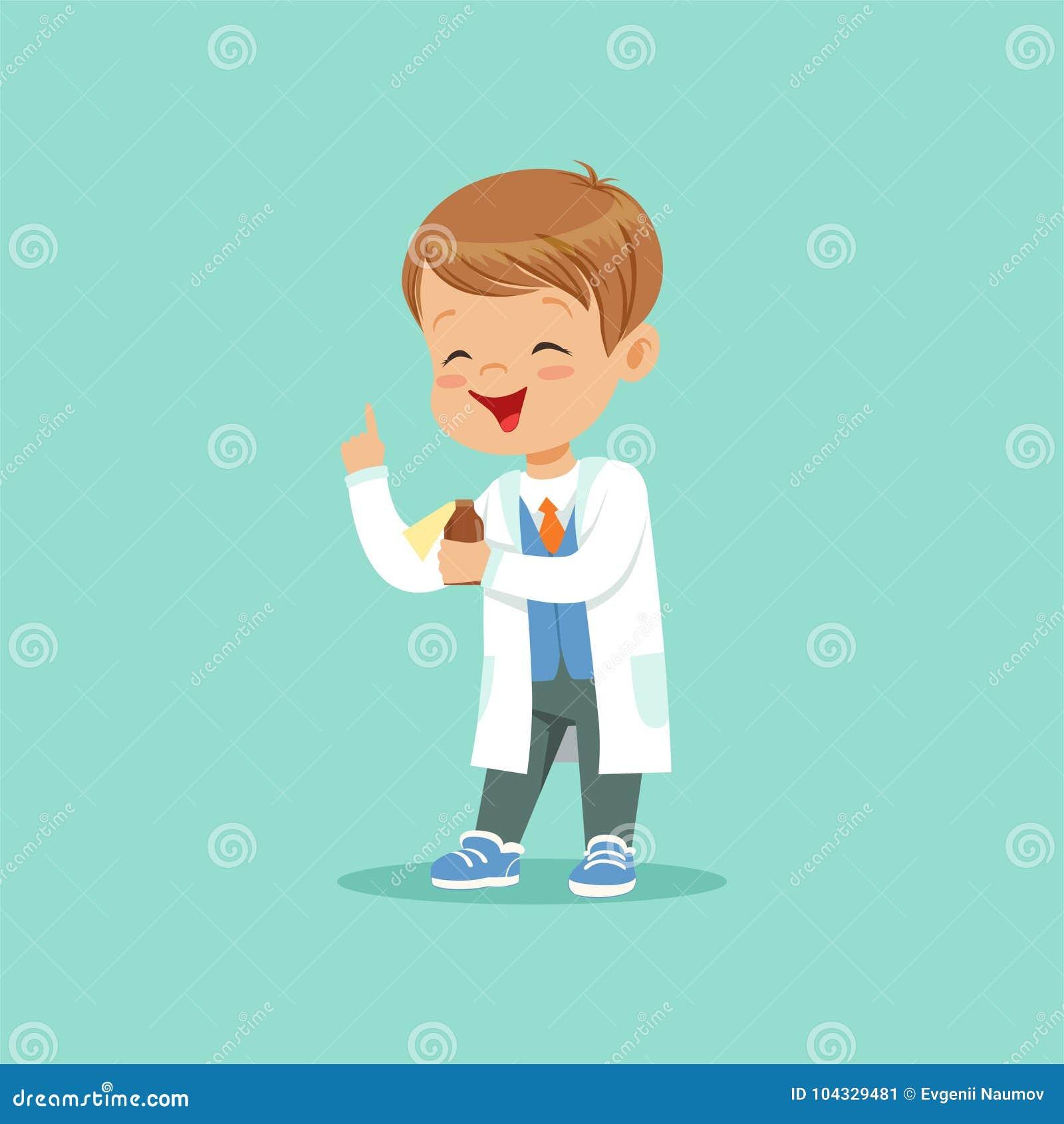 Dessin Bébé Garçon personnage de dessin animé de petit bébé garçon dans le manteau