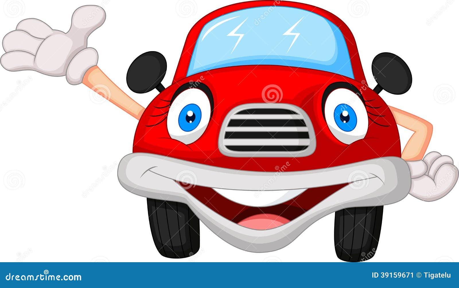 personnage de dessin anim rouge mignon de voiture illustration de vecteur illustration du. Black Bedroom Furniture Sets. Home Design Ideas