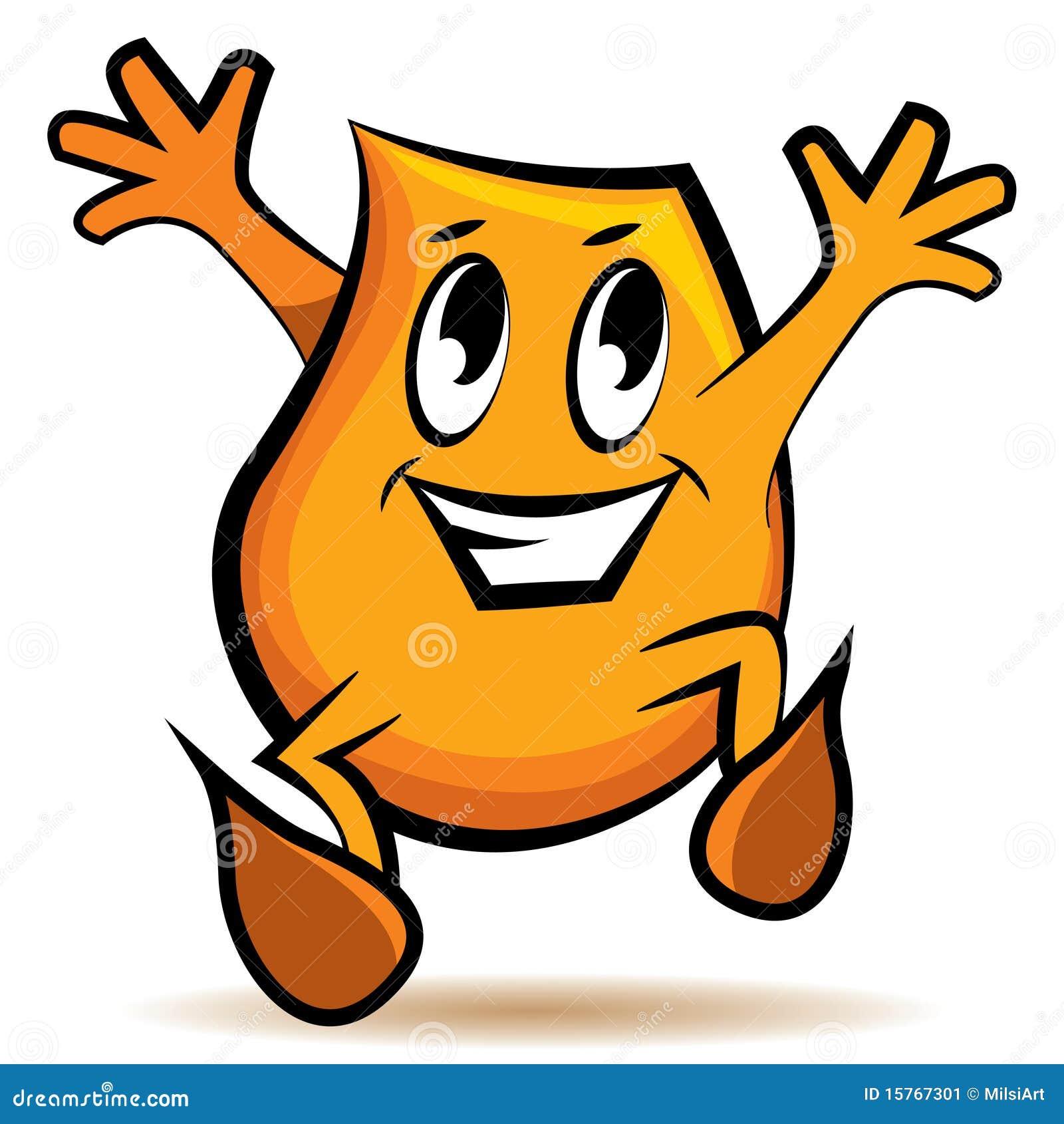 Personnage de dessin anim saut heureux image stock image 15767301 - Image de personnage de manga ...