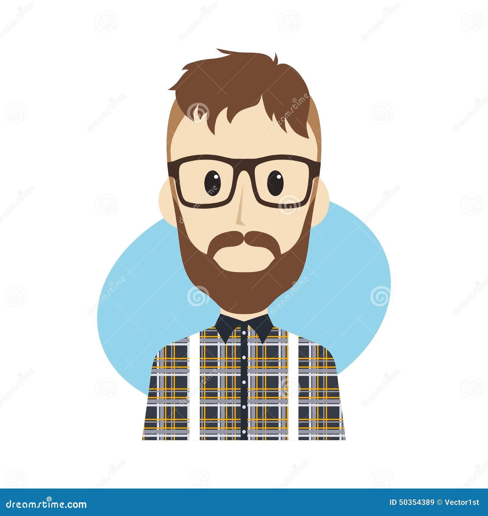 Personnage de dessin anim d 39 homme illustration de vecteur image 50354389 - Image de dessin anime ...