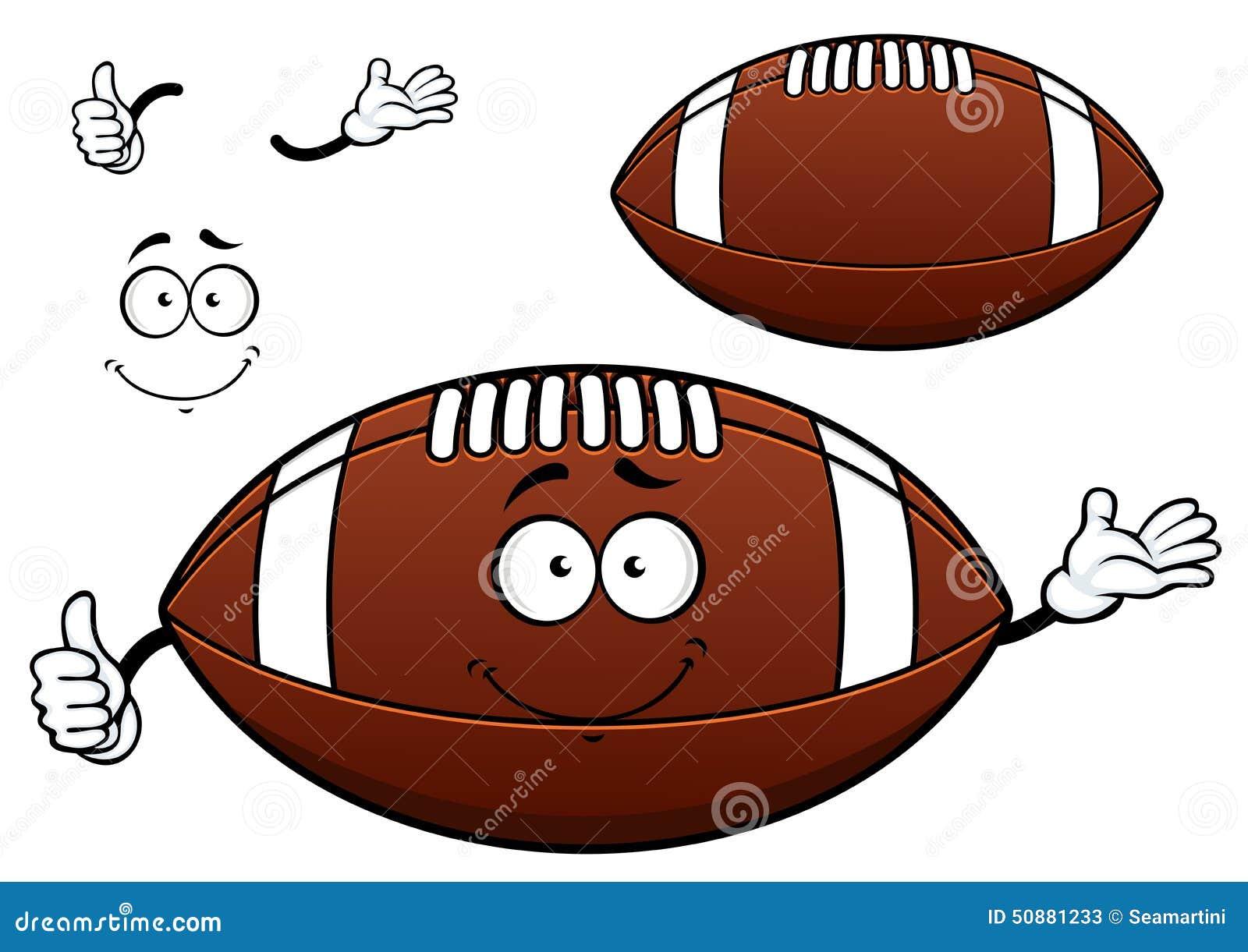 Personnage de dessin anim de boule de football am ricain - Dessin football americain ...