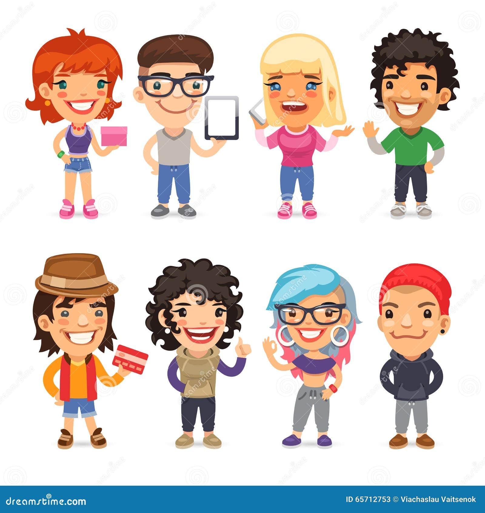 Personnages de dessin anim habill s la mode - Personnage disney dessin ...