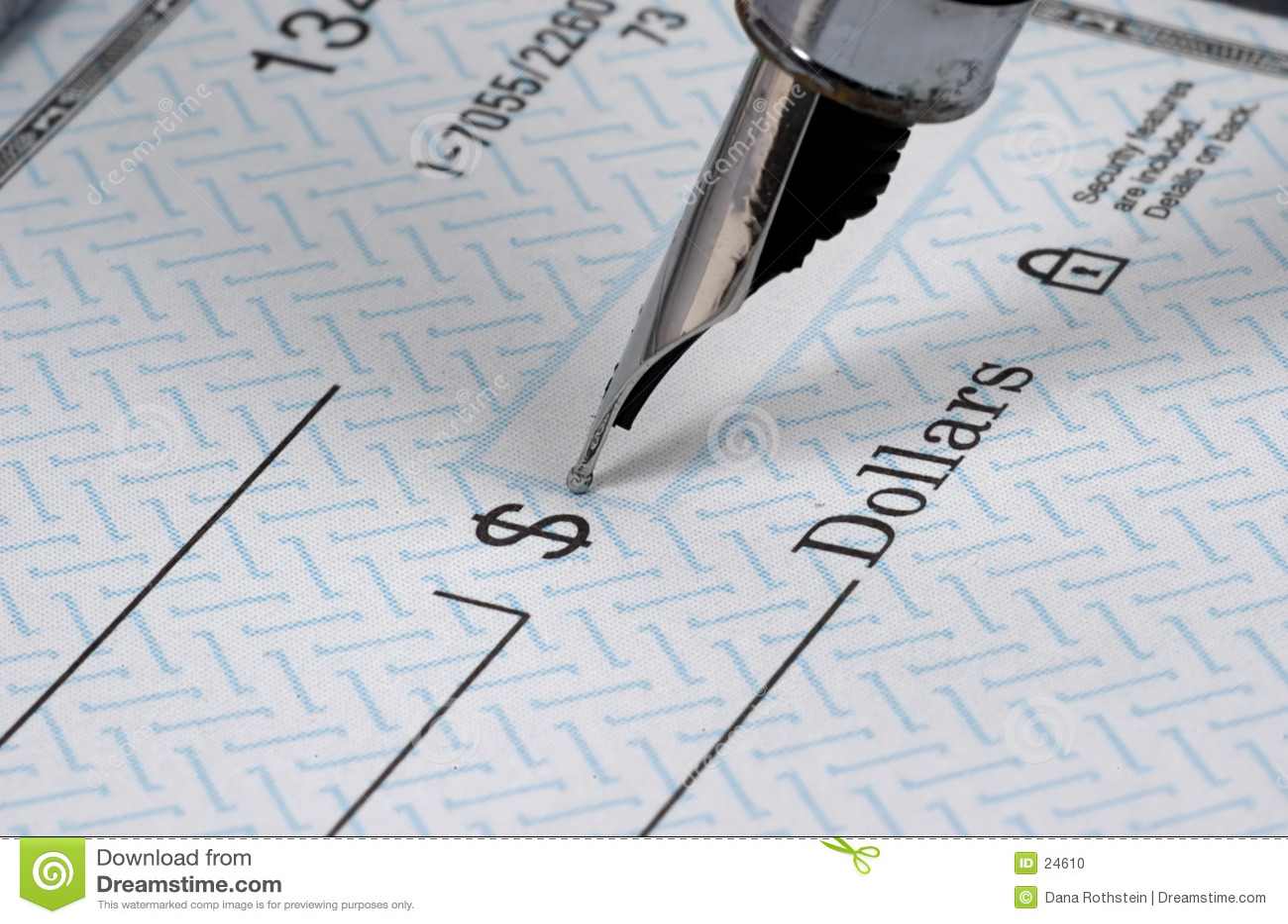 Personnalisation de chèques