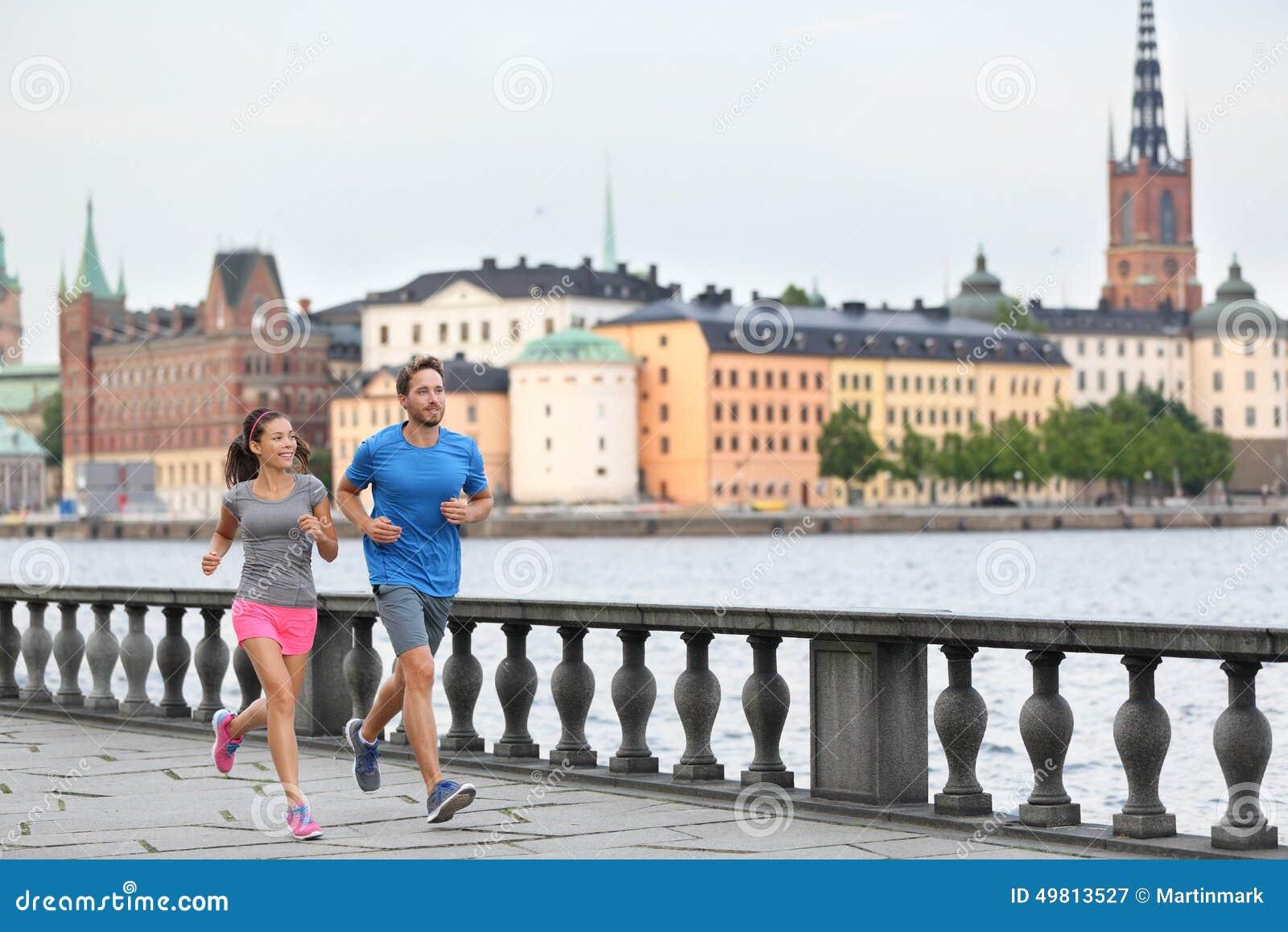 Personnes convenables d exercice courant à Stockholm, Suède