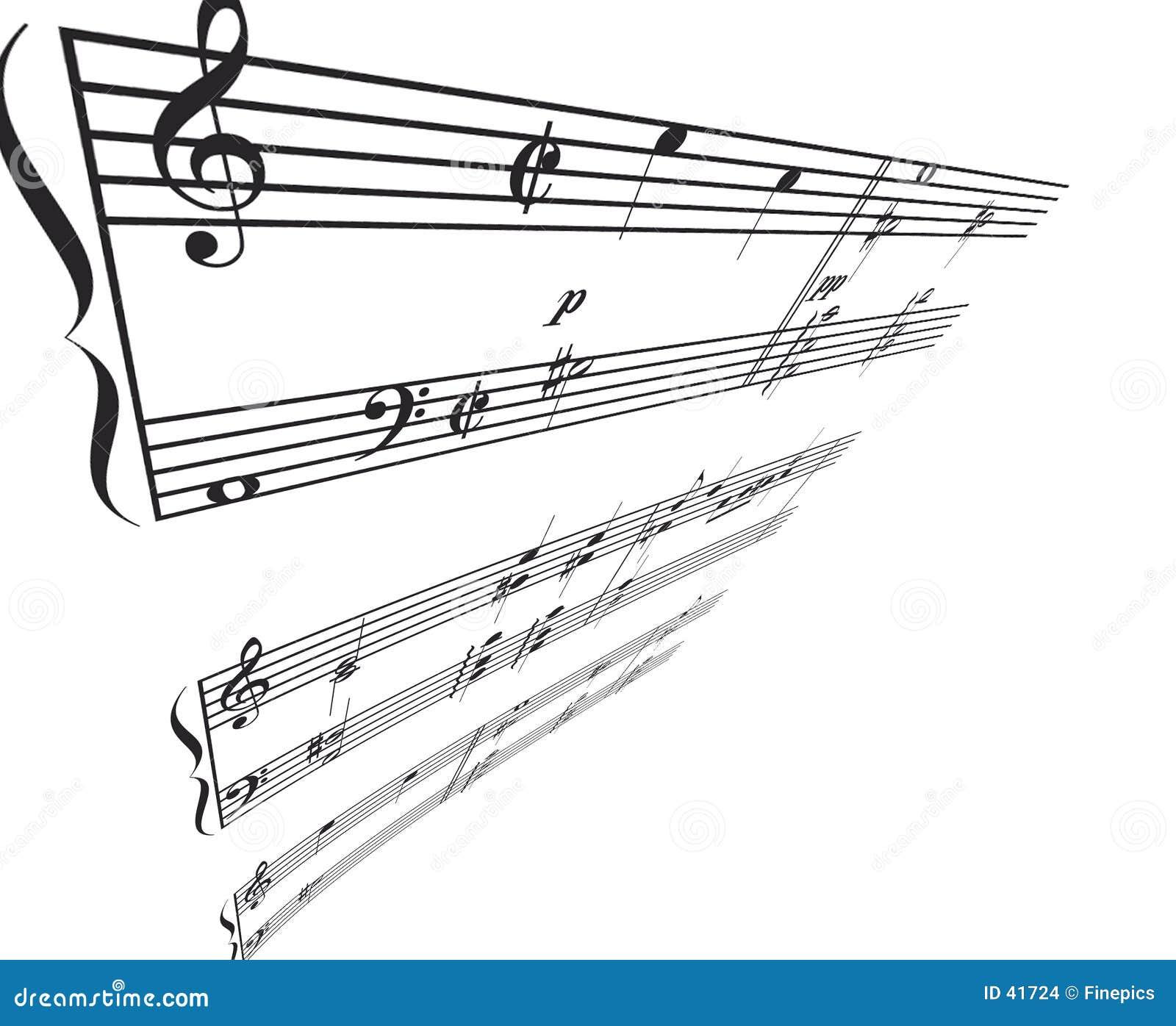 Perspectiva del ángulo de la música