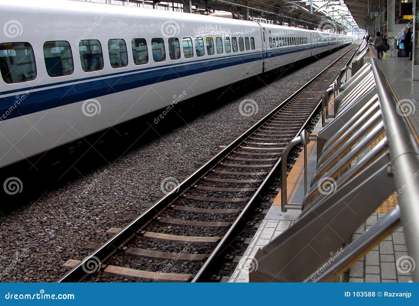 Perspectivas em uma estação de comboio