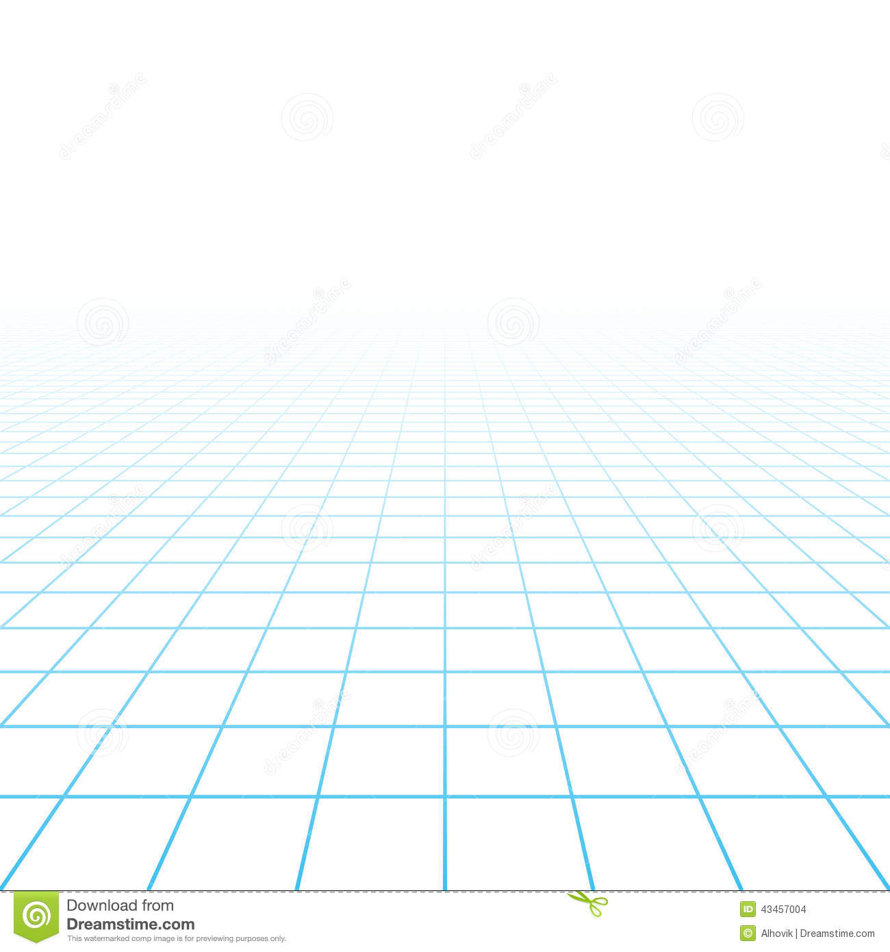 Perspective Grid Background Stock Vector Image 43457004