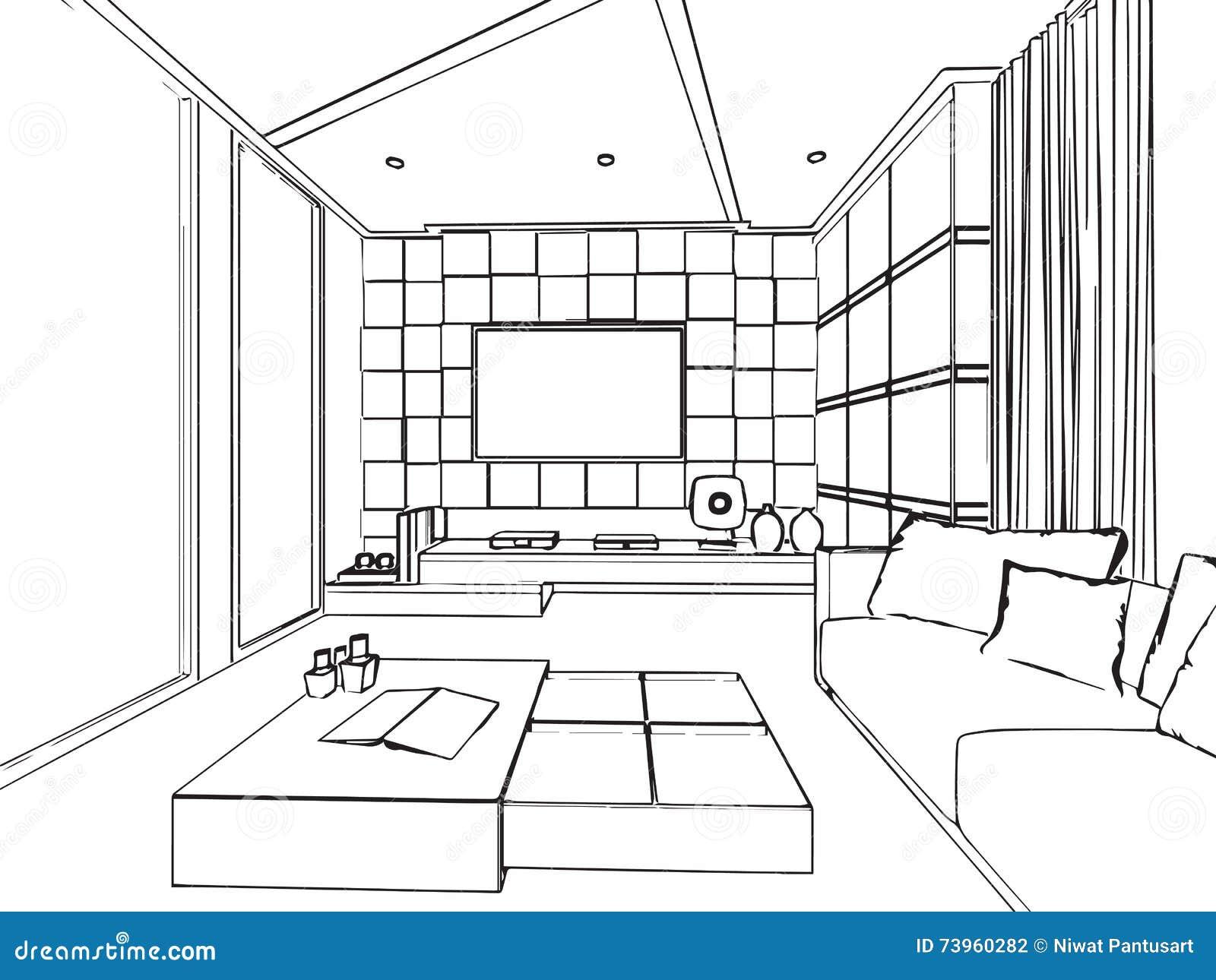 Dessin Architecture Interieur VD85   Montrealeast