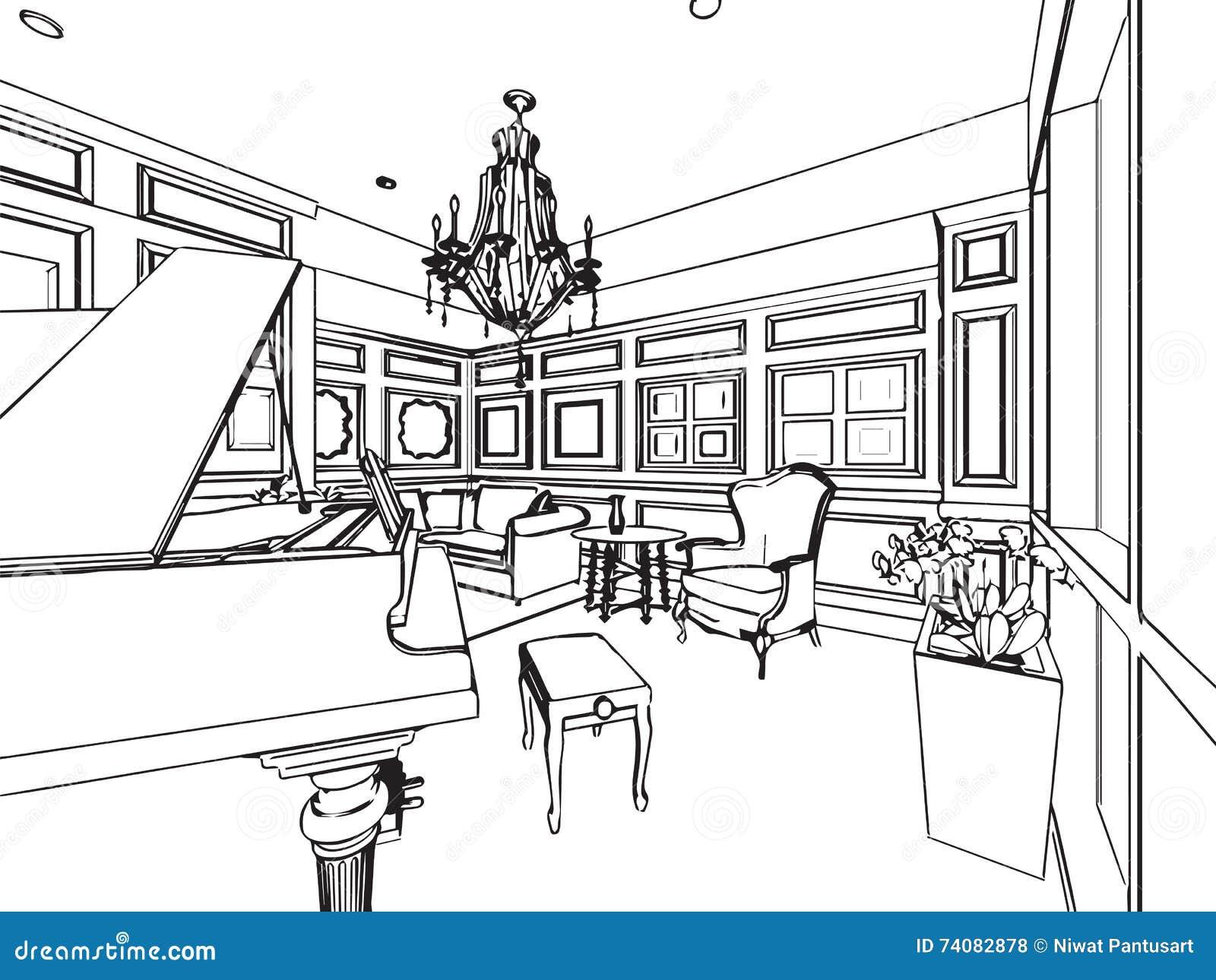 Maison Dessin Architecte. Great Genve Rue De La Halle Maison De ...